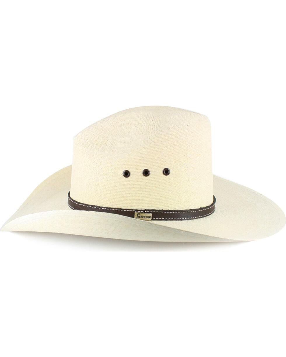 Atwood Men's Gus 7X Straw Cowboy Hat, Natural, hi-res