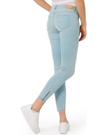 Wrangler Women's 70th Anniversary Zip-Crop Skinny Jeans, , hi-res