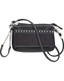 Blazin Roxx Women's Hadley Crossbody Fringe Purse , , hi-res