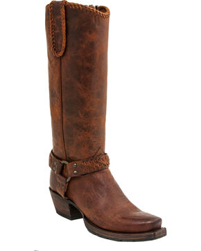 Lucchese Women's Tammy Western Boots, Honey, hi-res