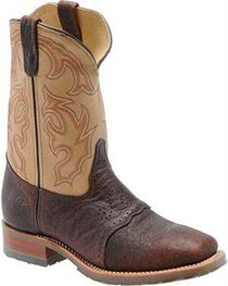 Double-H Men's Square Steel Toe Western Boots, , hi-res