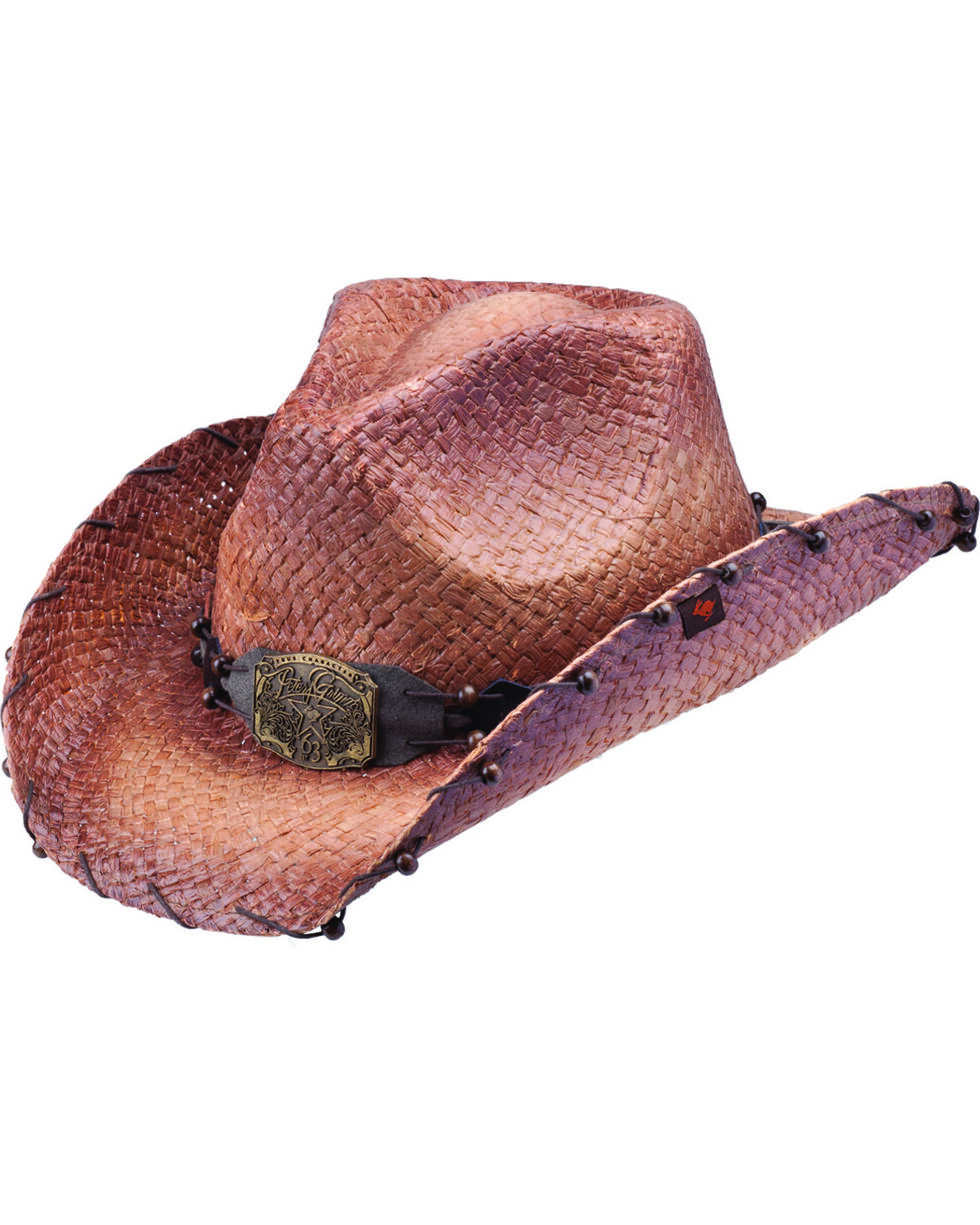 Peter Grimm Women's Revelation Cowboy Hat, Brown, hi-res