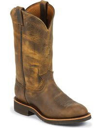 Chippewa Men's Arroyos Round Toe Pull On Outdoor Western Boots, , hi-res