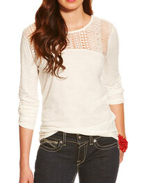Ariat Women's Holly Lace Top, , hi-res