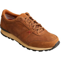 Twisted X Men's Saddle Brown Athleisure Shoes, , hi-res