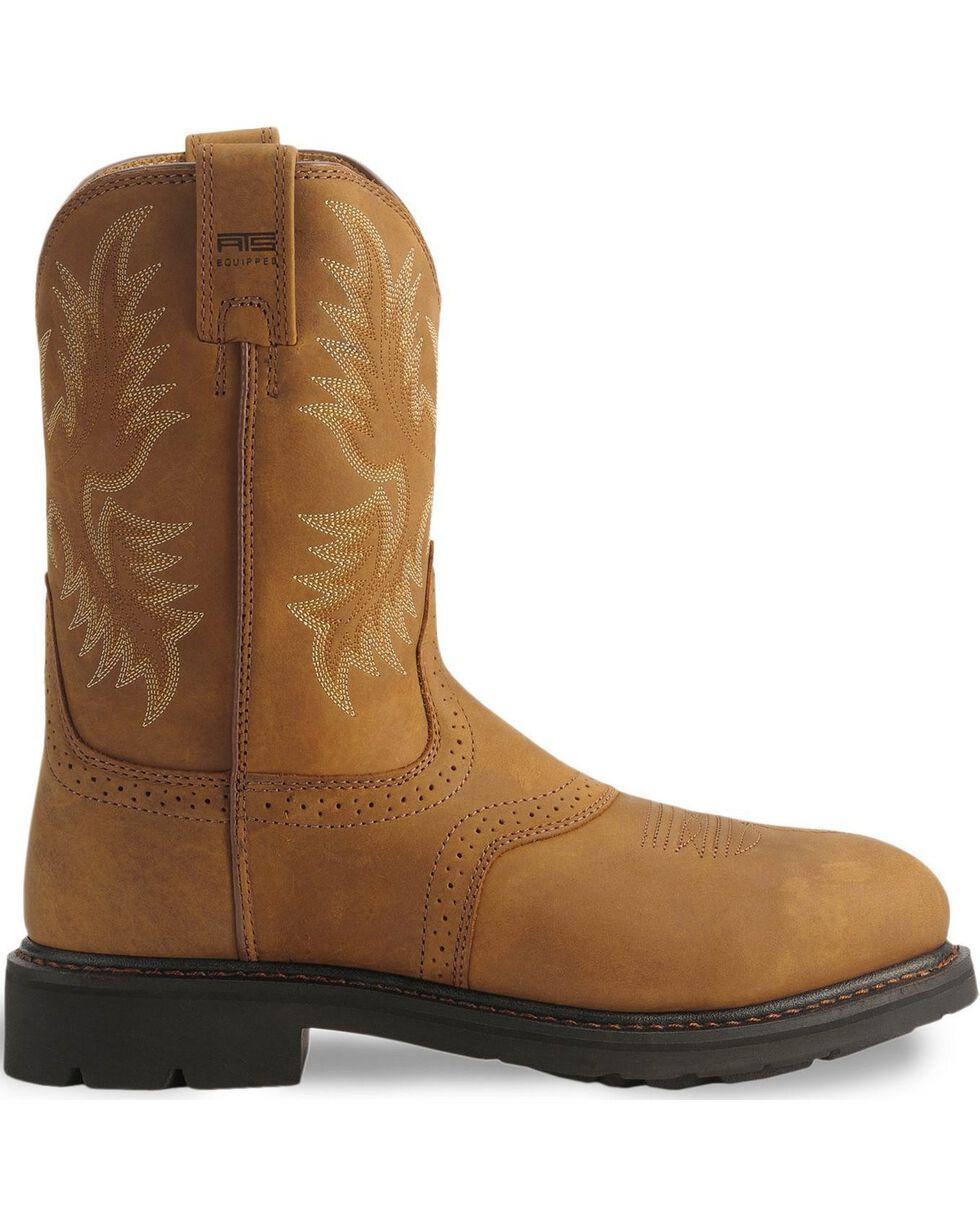 Ariat Men's Sierra Saddle Work Boots, Aged Bark, hi-res
