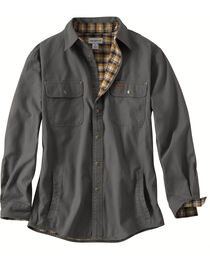 Carhartt Weathered Canvas Shirt Jacket, , hi-res