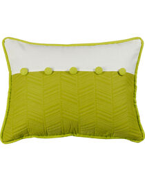 "HiEnd Accents Fern and Quilted Pillow, 16"" x 21"", , hi-res"