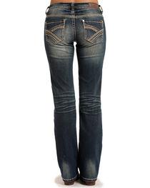 Rock & Roll Cowgirl Women's Blue Boyfriend Fit Jeans - Boot Cut , , hi-res