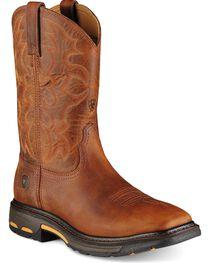 Ariat Men's Workhog  Steel Toe Work Boots, , hi-res