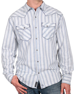 Moonshine Spirit® Men's City Slicker Western Shirt, White, hi-res
