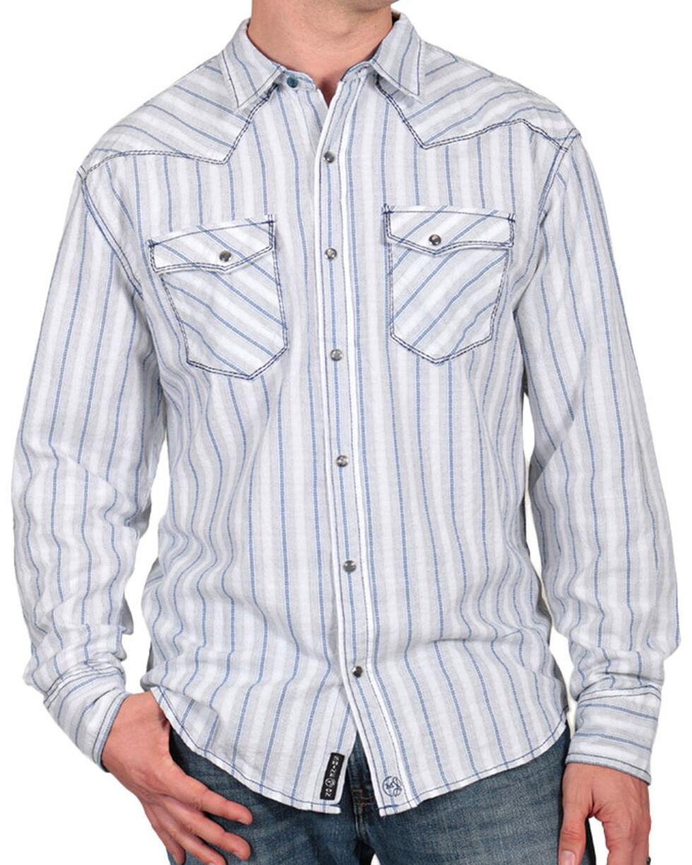 Moonshine Spirit® Men's City Slicker Western Shirt, White, hi-res