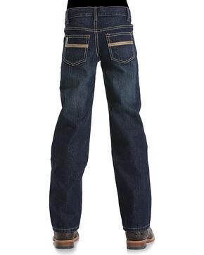 Cinch Boys' Slim Fit White Label Jeans - Boot Cut, Indigo, hi-res