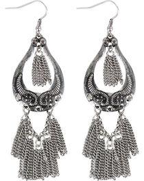 Shyanne® Women's Dangle Chain Earrings , , hi-res