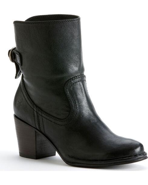 Frye Women's Lucinda Short Boots , Black, hi-res