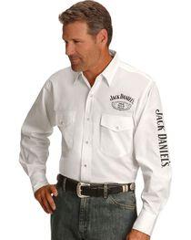 Jack Daniel's Men's Old No. 7 Long Sleeve Western Shirt, , hi-res
