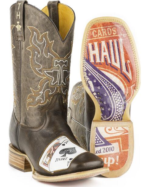 Tin Haul Men's Black Jack Western Boots, Brown, hi-res