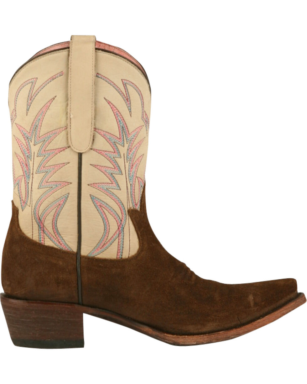Junk Gypsy by Lane Women's Dirt Road Dreamer Western Boots, Chocolate, hi-res