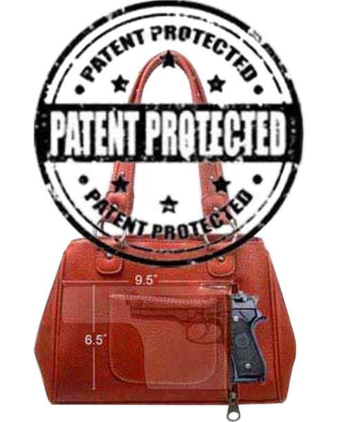 Montana West Women's Brown Concealed Carry Hobo Bag , Brown, hi-res
