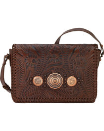 American West Women's Lariat Love Crossbody Bag/Wallet, , hi-res