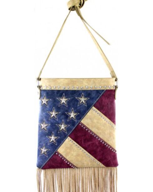 Montana West America Pride Fringe Crossbody Handbag, , hi-res