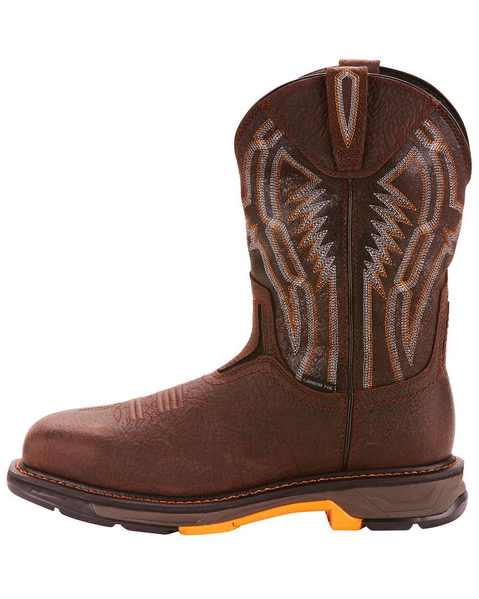 Ariat Men's Brown Workhog XT Dare Boots - Carbon Toe , Brown, hi-res