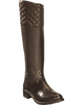 Smoky Mountain Anna Tall Riding Boots - Round Toe, Brown, hi-res