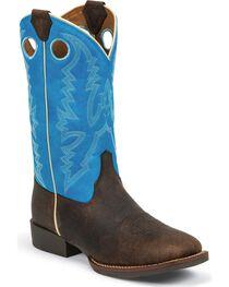 Justin Kid's Western Buckaroo Boots, , hi-res