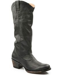 Stetson Women's Hand Burnished Ficcini Western Boots, , hi-res