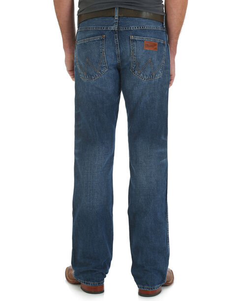 Wrangler Retro Men's Slim Fit Boot Cut Jeans, Indigo, hi-res