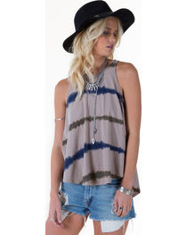 White Crow Women's Open Road Top, Grey, hi-res