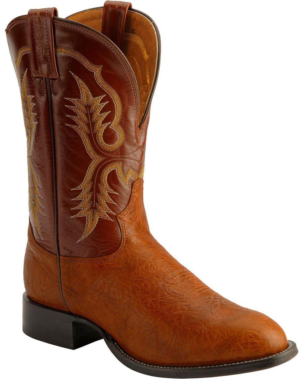 """Tony Lama Men's Stockman 11"""" Western Boots, Brit Tan, hi-res"""