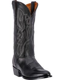 El Dorado Men's Round Toe Vanquished Calf Western Boots, , hi-res