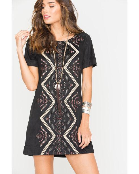 Miss Me Women's Change of Heart Dress, Black, hi-res
