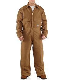 Carhartt Flame Resistant Quilt-Lined Duck Coveralls, , hi-res