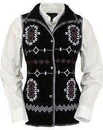 Outback Trading Co. Women's Black Santa Fe Vest , , hi-res
