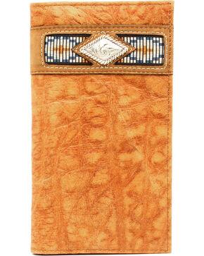 Ariat Gator Ribbon Rodeo Wallet, Natural, hi-res