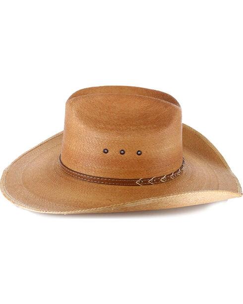 Milano Men's 30X Saltillo Palm Cowboy Hat, Natural, hi-res