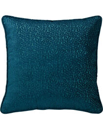 HiEnd Accents Alamosa Collection Chenille Leopard Print Euro Sham, , hi-res