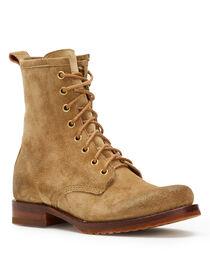 Frye Women's Sand Veronica Combat Boots - Round Toe, , hi-res