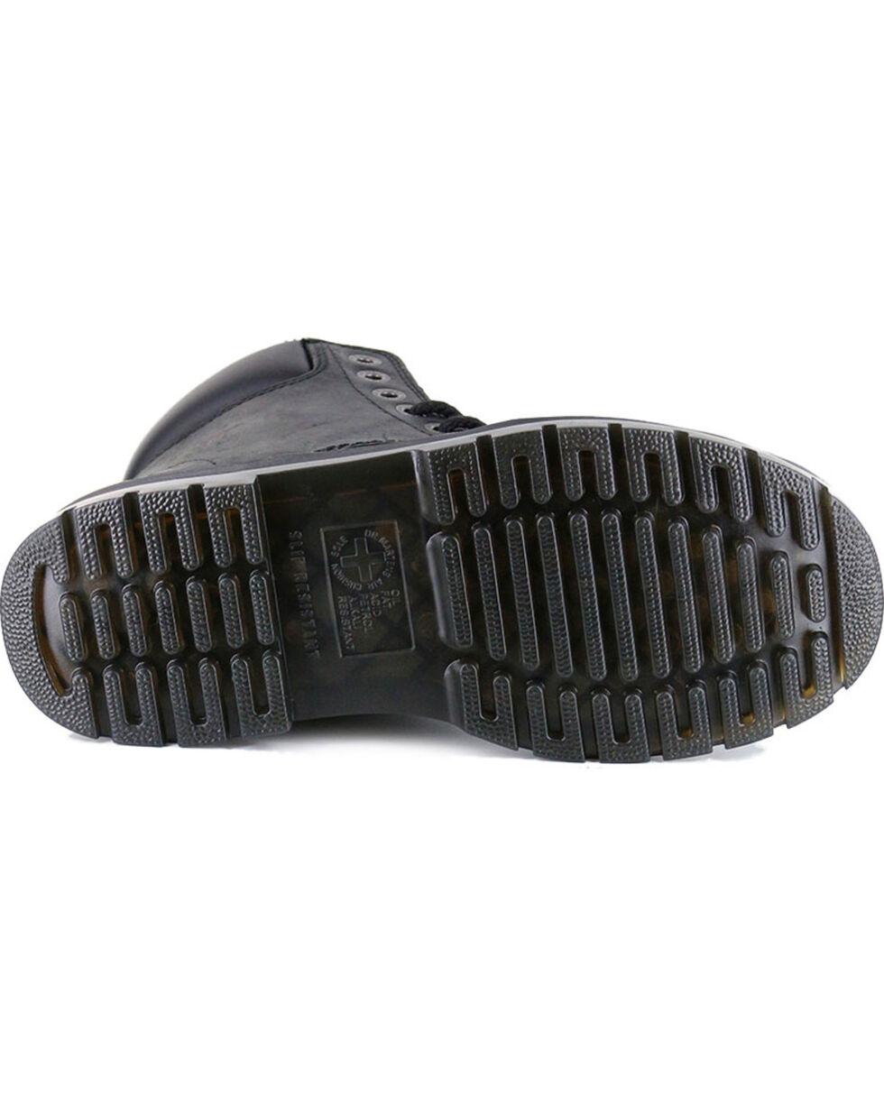 Dr. Martens Men's Winch Ex Wide Work Boots - Steel Toe, Dark Brown, hi-res