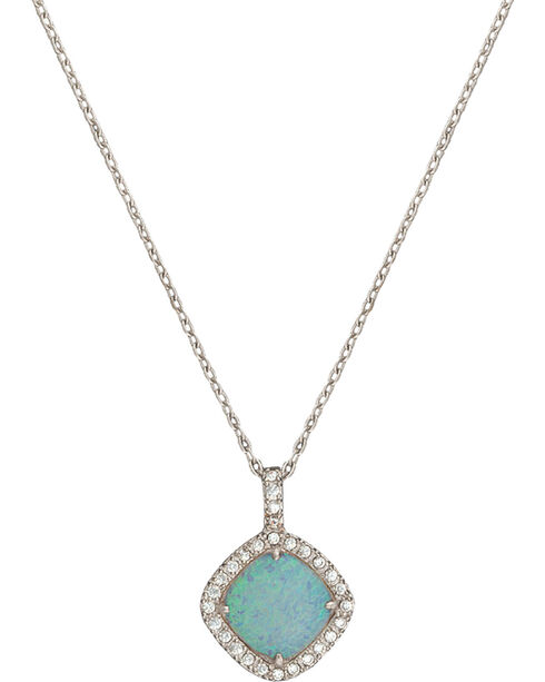 Montana Silversmiths River Lights Pools in Winter Necklace, Blue, hi-res
