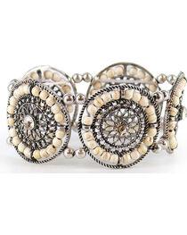 Shyanne® Women's Beaded Stretch Bracelet, , hi-res