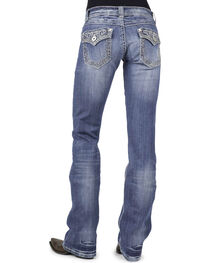 Stetson Women's Boot Cut Flap Pocket  Jeans, , hi-res