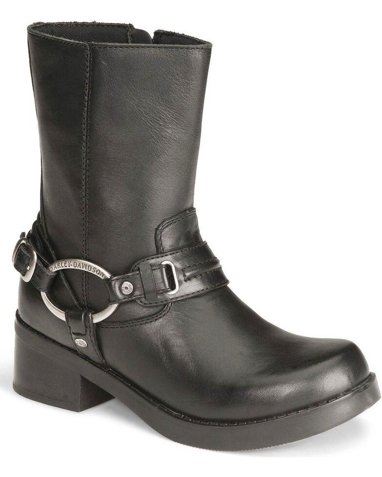HarleyDavidson Womens Christa Fashion Boots       Black       hires