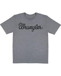 Wrangler Men's Script Logo Short Sleeve Tee, , hi-res
