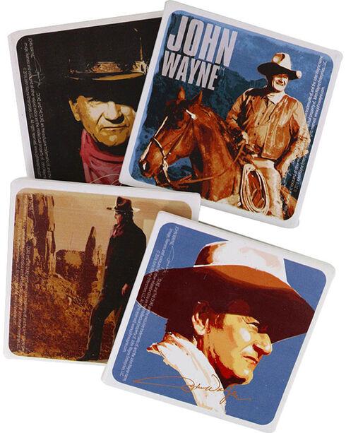 Vandor 4 Piece John Wayne Coaster Set, No Color, hi-res