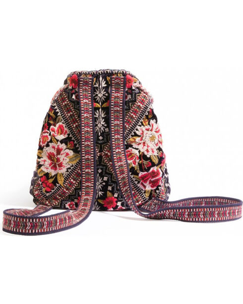 Johnny Was Women's Matilda Velvet Backpack , , hi-res