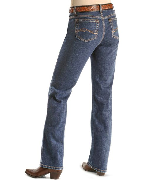 Aura Women's Instantly Slimming Jeans, Midstone, hi-res