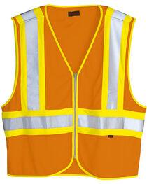 Wolverine Men's Safety Mile Marker Vest, , hi-res